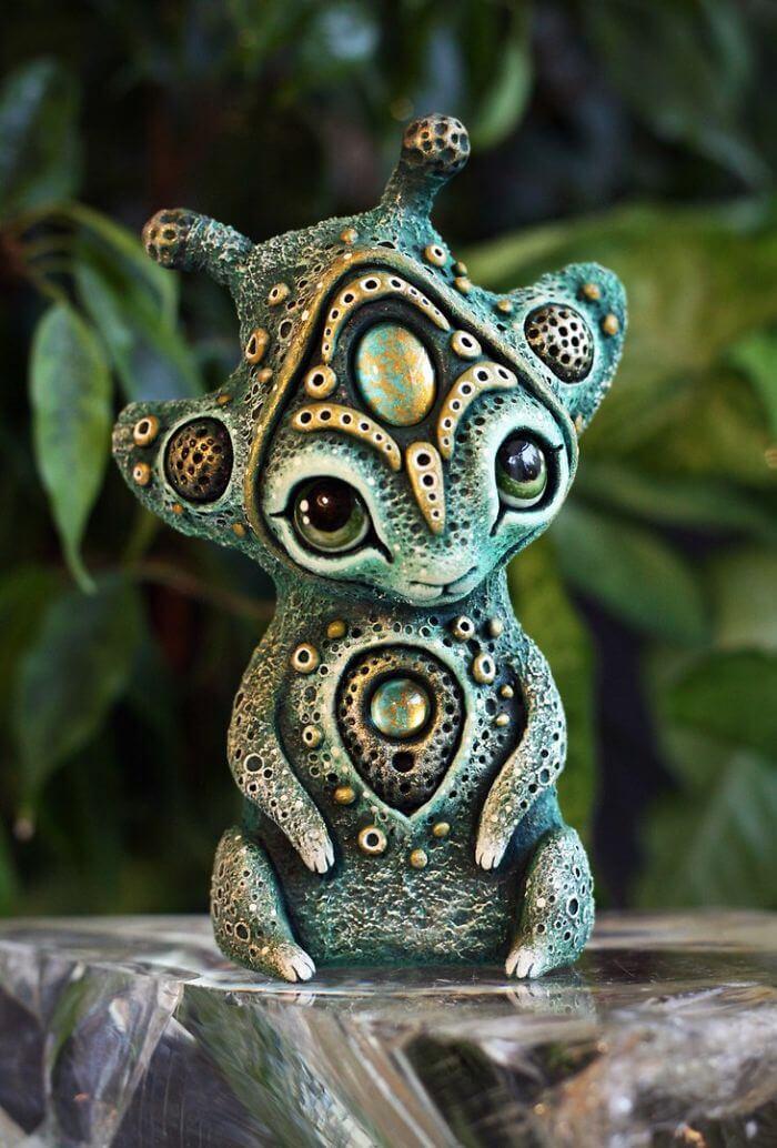 Maryana Kopylova cute mystical creatures 6 (1)