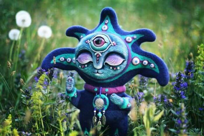 Maryana Kopylova cute mystical creatures 7 (1)