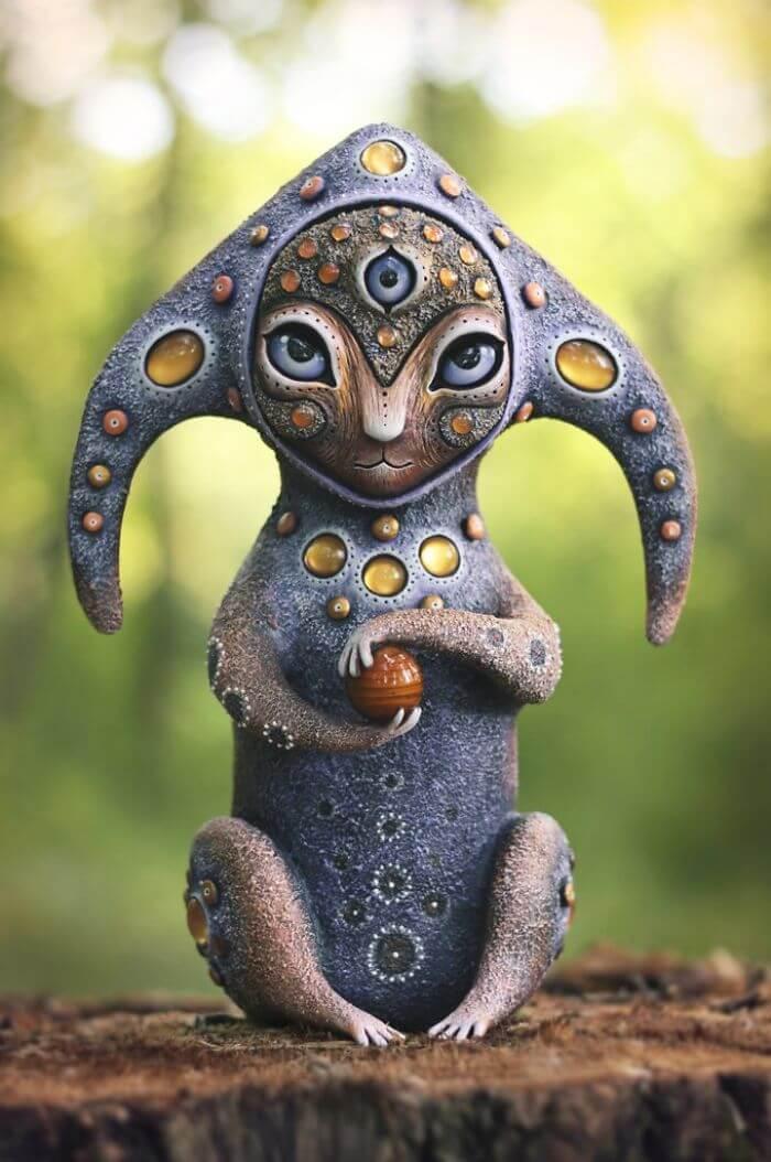Maryana Kopylova cute mystical creatures 8 (1)
