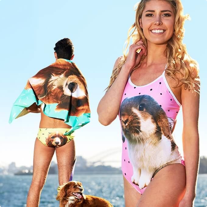 Pet flair dog swimsuit 5 (1)