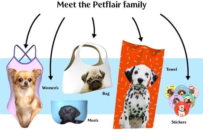 Pet flair dog swimsuit 7 (1)