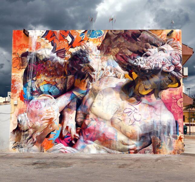 PichiAvo greek gods graffiti 3 (1)