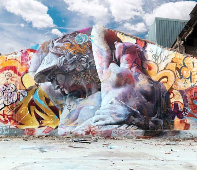 PichiAvo greek gods graffiti 5 (1)