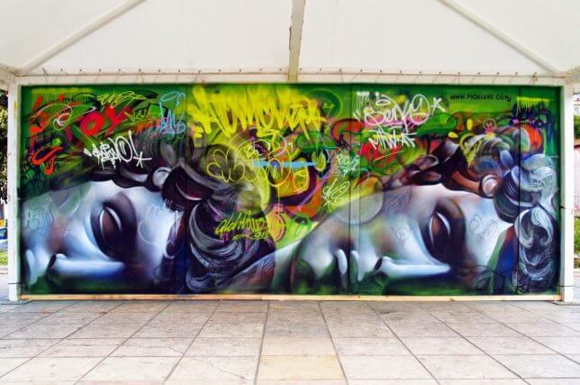 PichiAvo greek gods graffiti 6 (1)