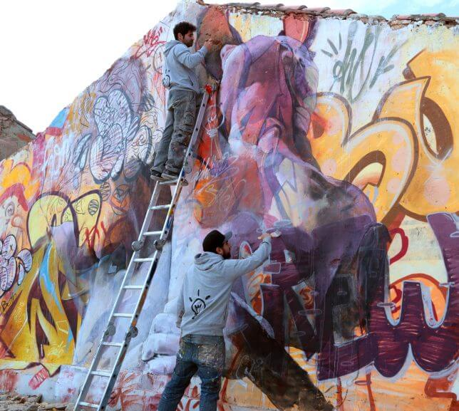 PichiAvo greek gods graffiti 9 (1)