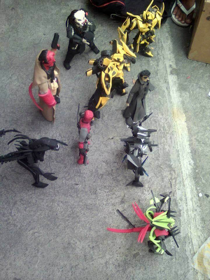 action figures from used flip flops 8 (1)