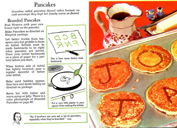 recipes from the 1950s
