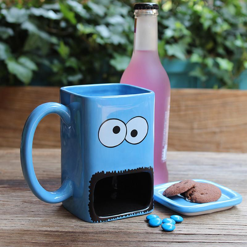 Cookie Monster Mug - gifts for people who love food