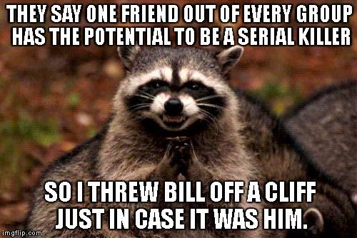 evil raccoon meme 11 1 18 evil plotting raccoon memes that will make you nervously laugh