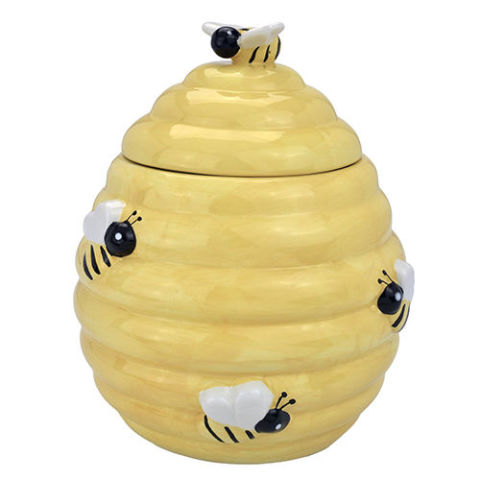 gallery-1467827176-mygift-yellow-beehive-jar