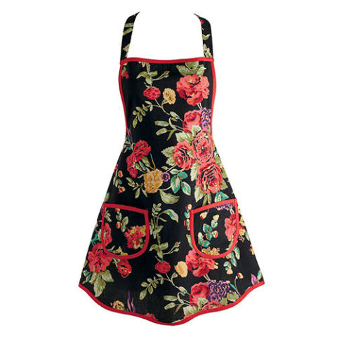 Wild Rose Vintage Apron by Design Imports