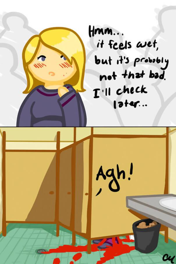 period puns 12