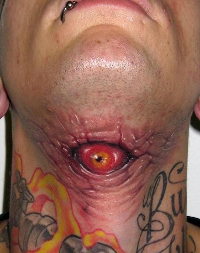 creepy tattoos 3