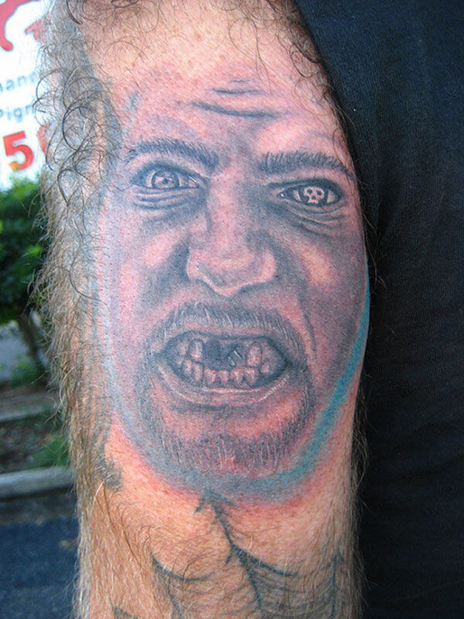 creepy tattoos 4