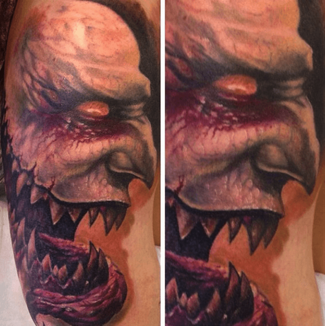 scary tattoo designs 8