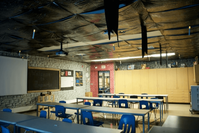 teacher transforms classroom into harry potter theme world 2 (1)