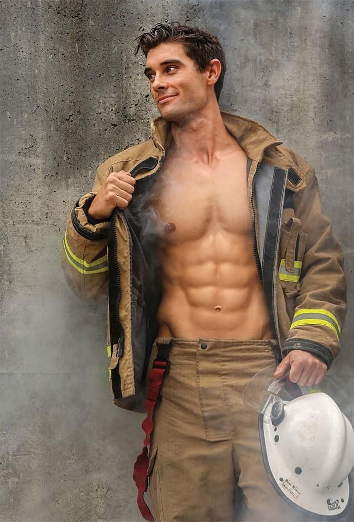 2018 australian firefighters calendar featuring hot dudes. Black Bedroom Furniture Sets. Home Design Ideas
