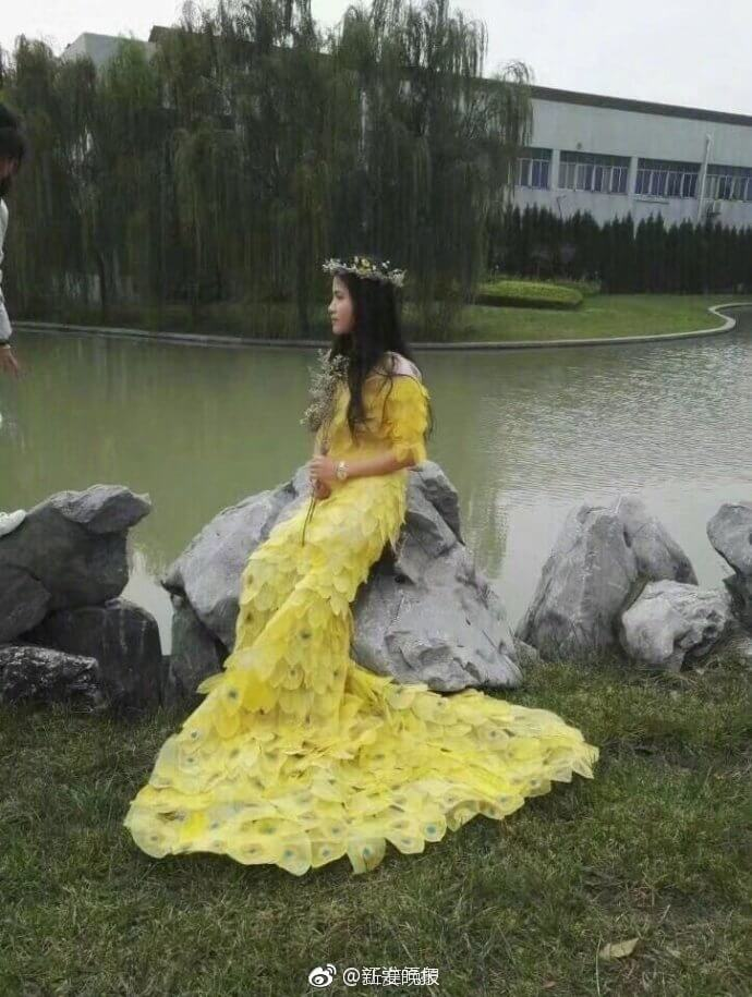 6000 leaves dress for prom 6 (1)