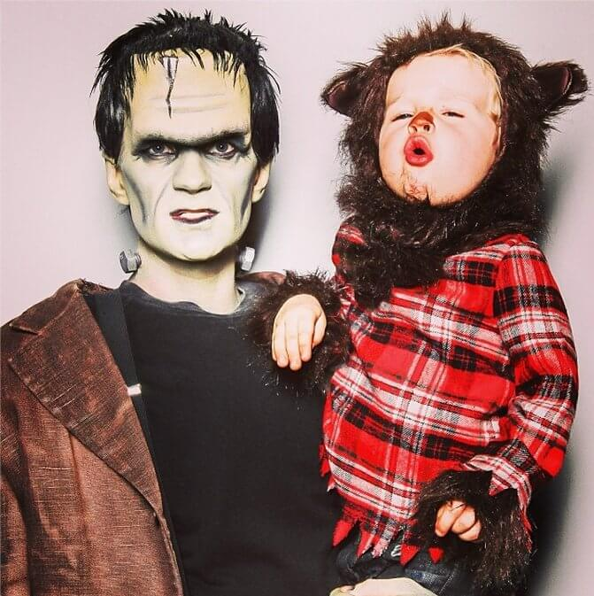 Neil Patrick Harris and family own Halloween 3 (1)