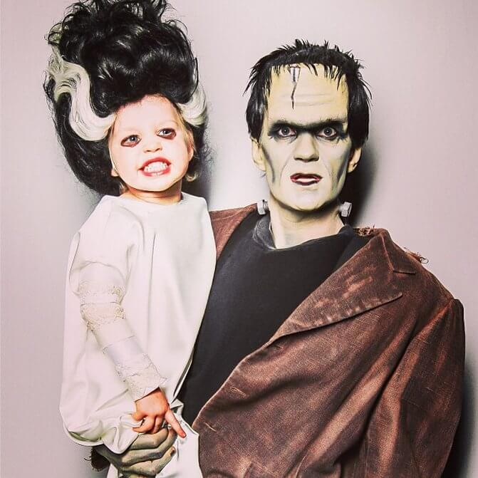 Neil Patrick Harris and family own Halloween 4 (1)