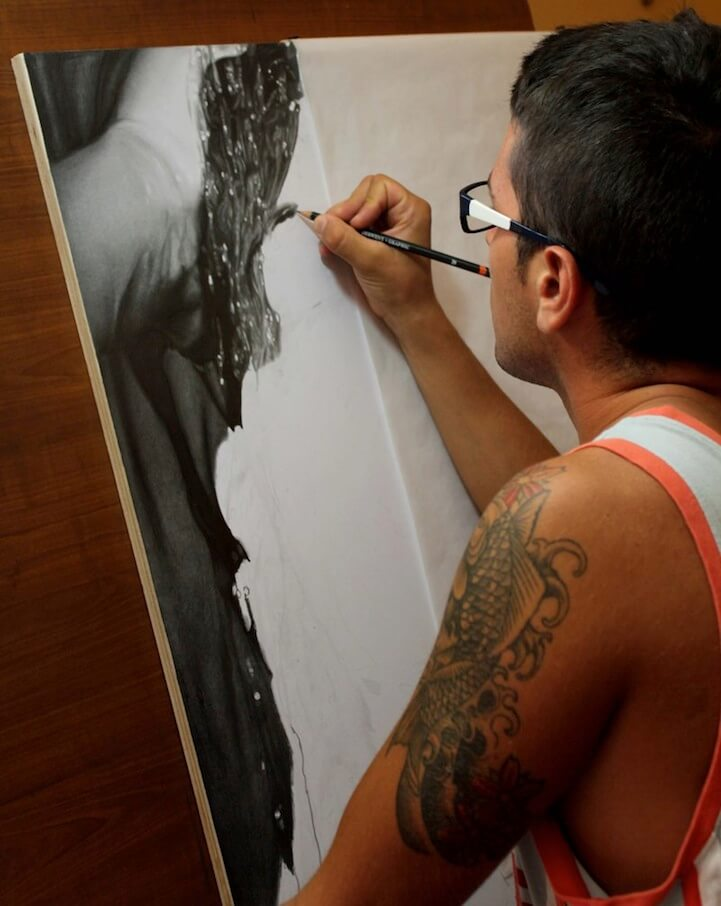 Photorealistic Pencil Drawing diego fazio 2 (1)