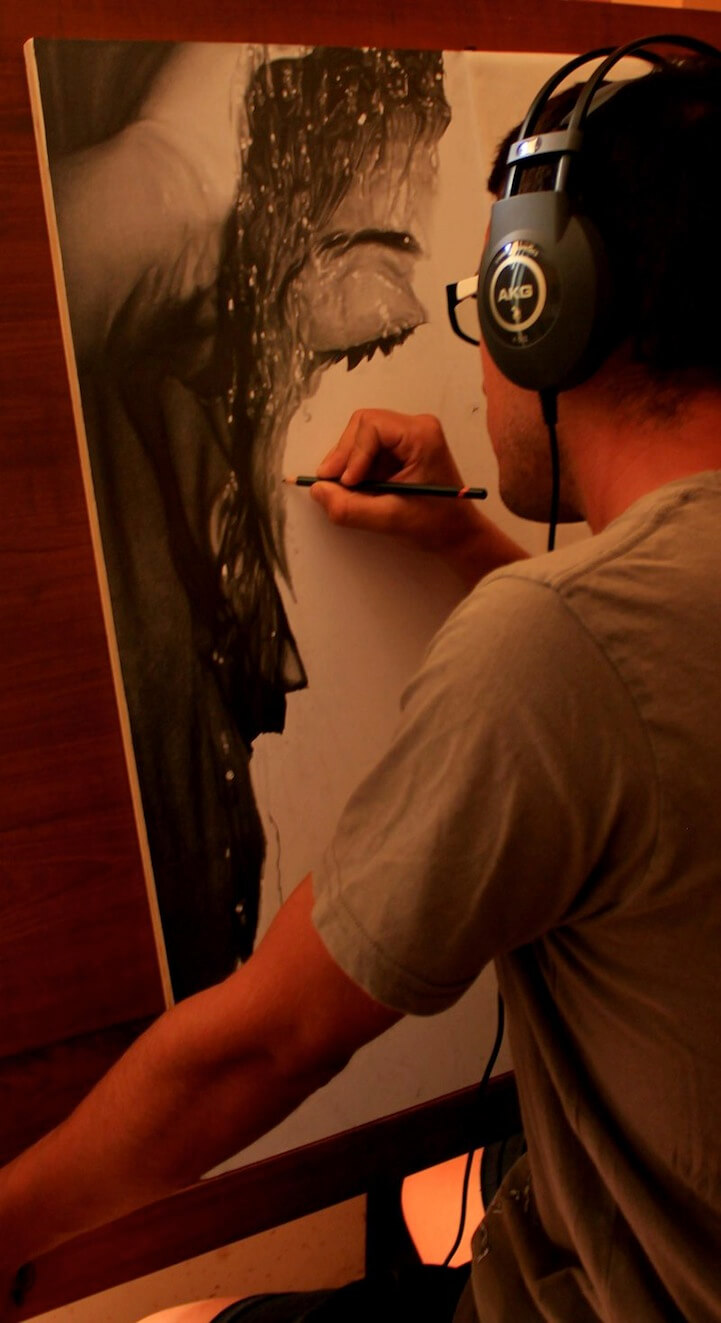 Photorealistic Pencil Drawing diego fazio 3 (1)