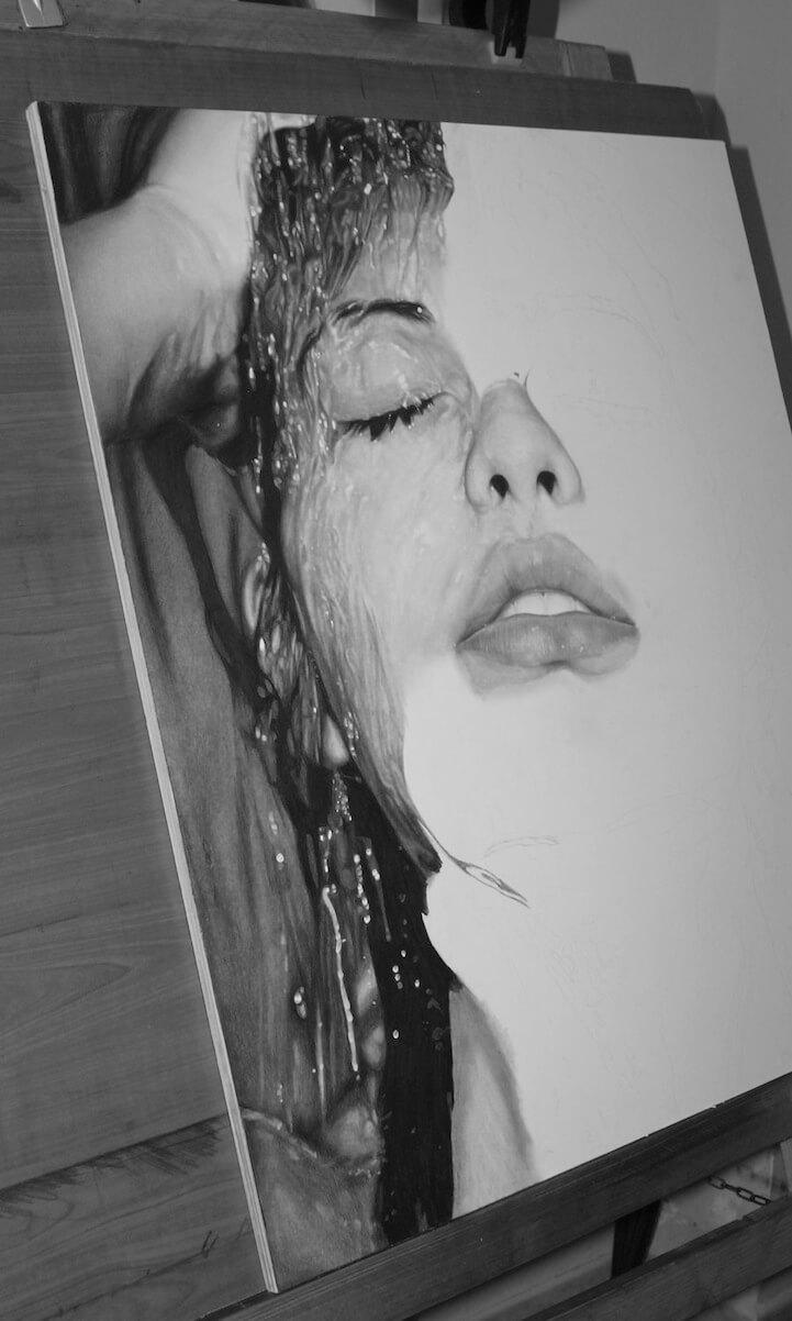 Photorealistic Pencil Drawing diego fazio 5 (1)