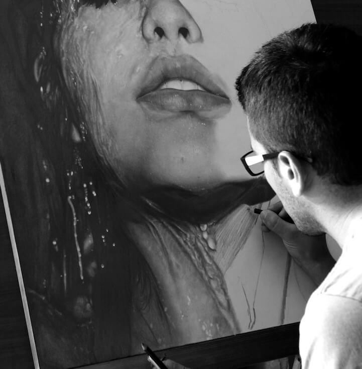 Photorealistic Pencil Drawing diego fazio 7 (1)