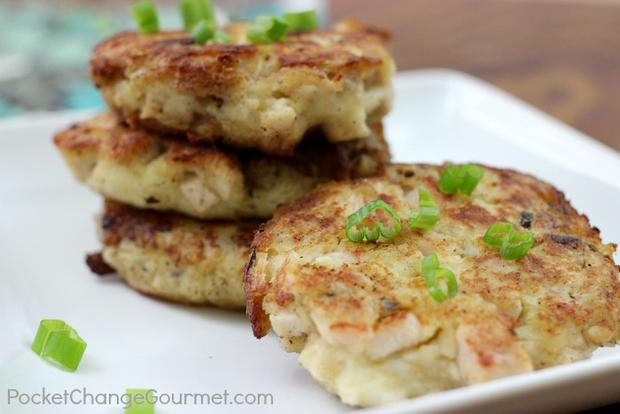 Mashed Potato And Stuffing Patties