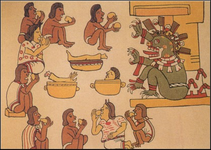 Human Stew - Aztecs, 10th Century CE, Olmec 7th Century BCE - The first of the ancient recipes list