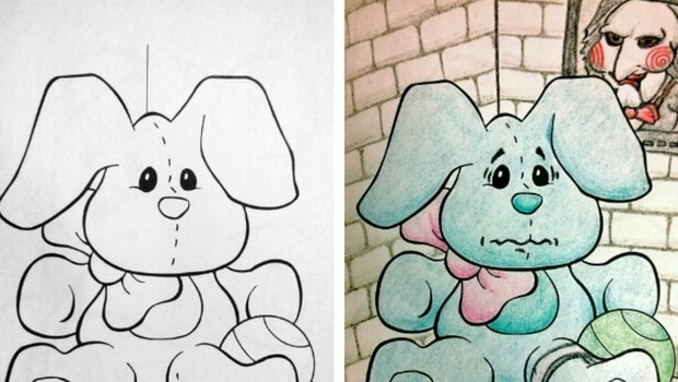 Awesome Coloring Books For Children Are Corrupted By Adults ...