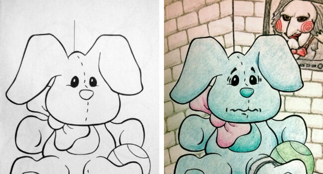Awesome Coloring Books For Children Are Corrupted By Adults And Their Weird Mind