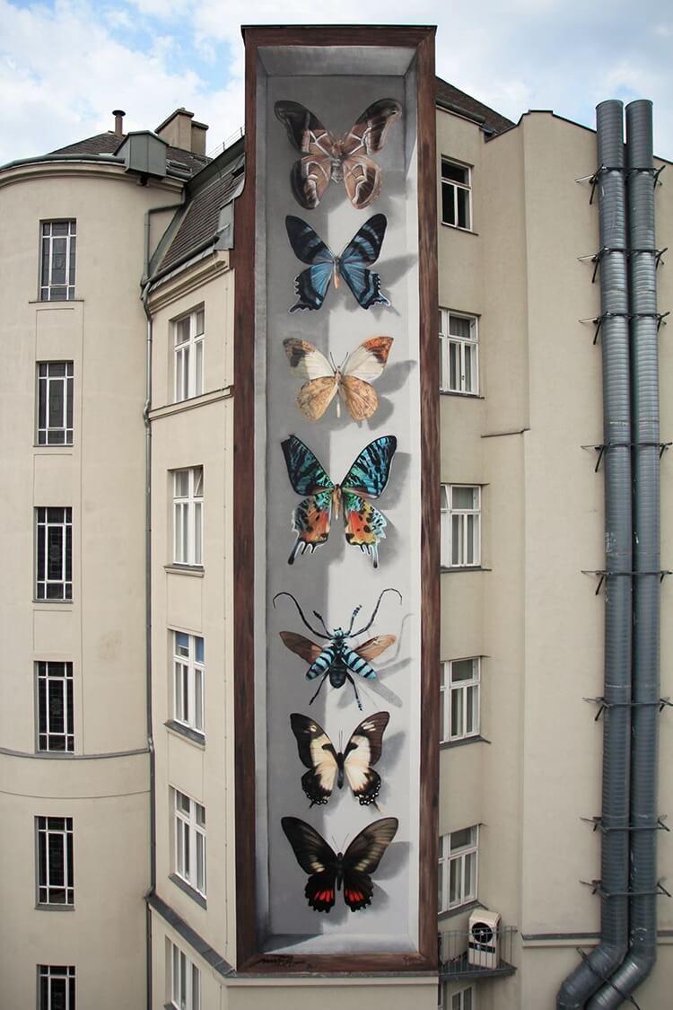 mantra butterfly murals 2