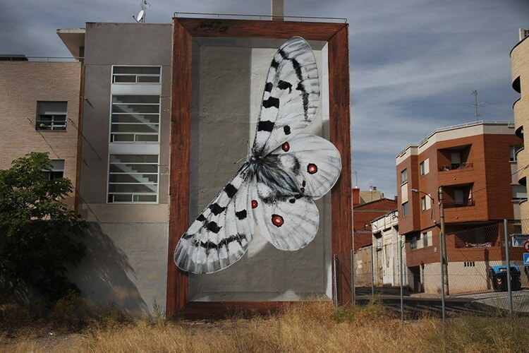 mantra butterfly murals 3