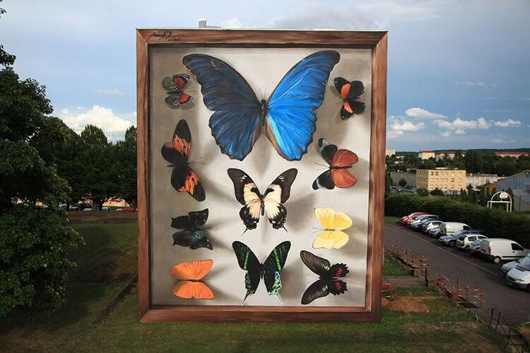mantra butterfly murals 6