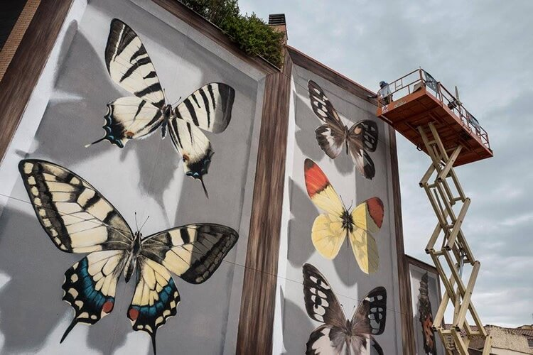 mantra butterfly murals 7