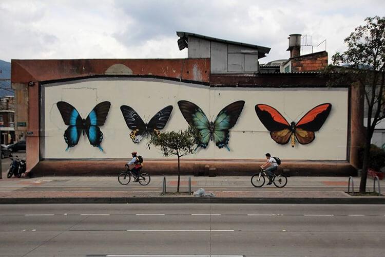 mantra butterfly murals 9