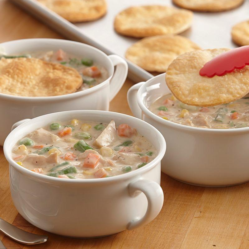 Turkey Pot Pie Soup from leftover stuffing - leftover stuffing recipes