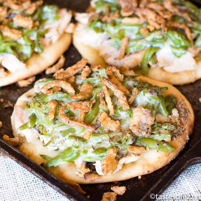 Thanksgiving Leftover Pizza - leftover stuffing recipes