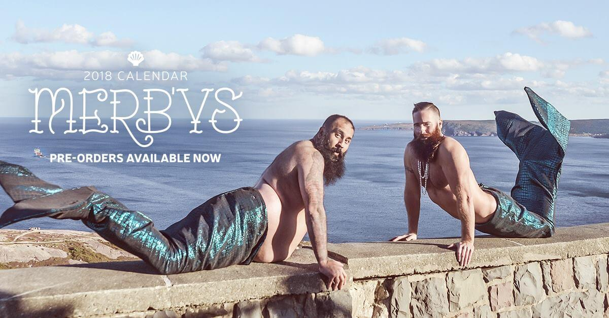 Bearded mermen calander 4 (1)