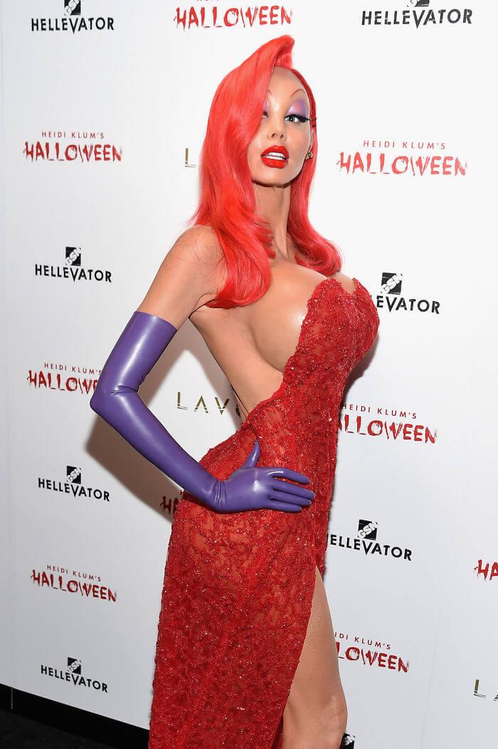 Heidi Klum costume 2017 17 (1)