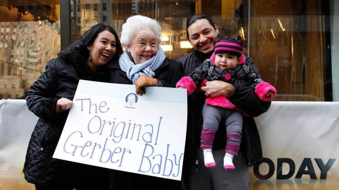 Original Gerber Baby celebrates 91 2 (1)