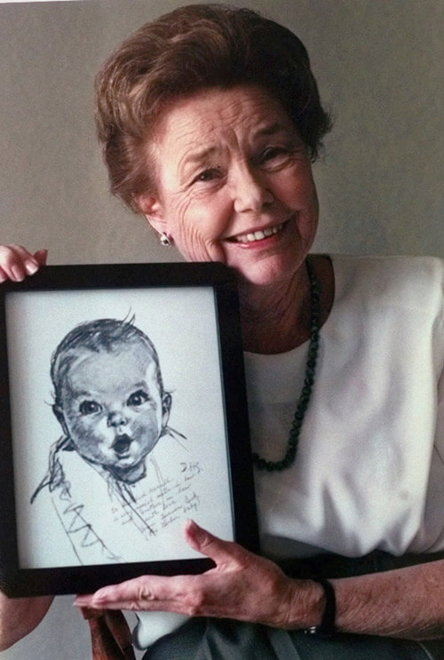 Original Gerber Baby celebrates 91 3 (1)