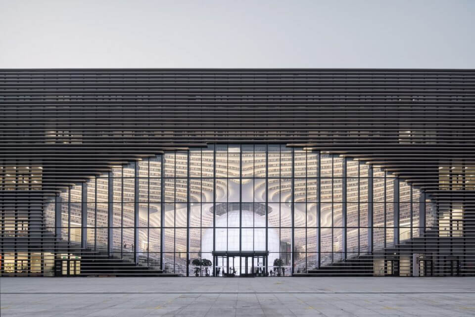Tianjin Binhai Library by MVRDV 1 (1)
