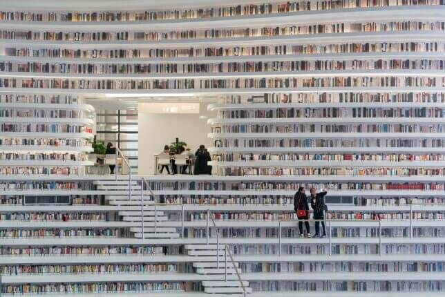 Tianjin Binhai Library by MVRDV 3 (1)