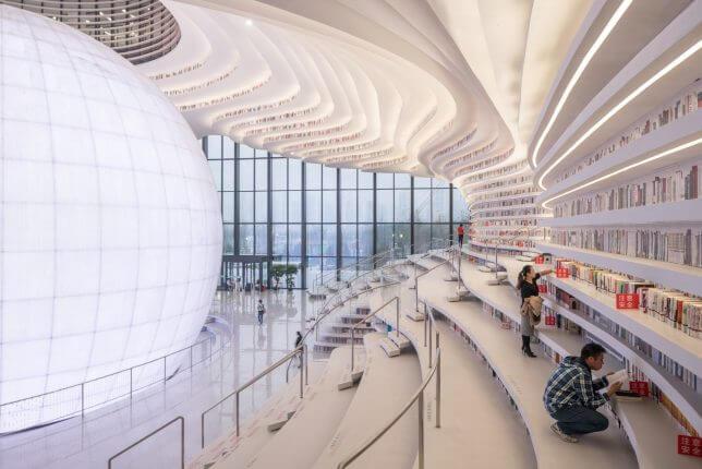 Tianjin Binhai Library by MVRDV 4 (1)
