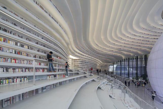 Tianjin Binhai Library by MVRDV 5 (1)