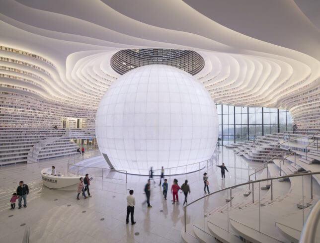 Tianjin Binhai Library by MVRDV 7 (1)