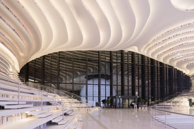 Tianjin Binhai Library by MVRDV 8 (1)