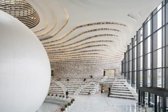 Tianjin Binhai Library by MVRDV 9 (1)